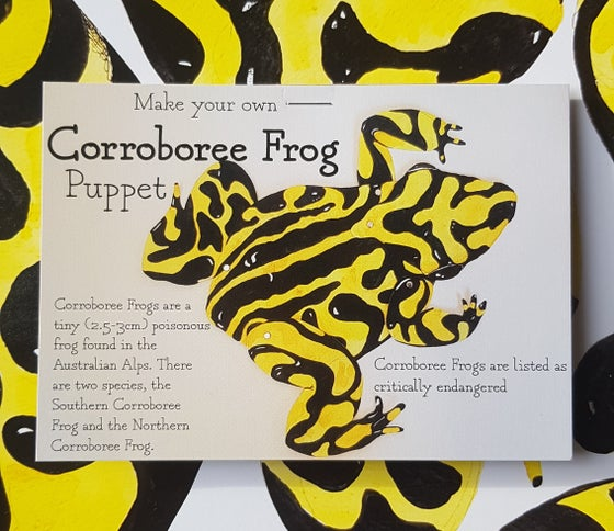 Image of Corroboree Frog Puppet