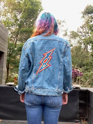 Image of Lightning Bolt Jean Jacket
