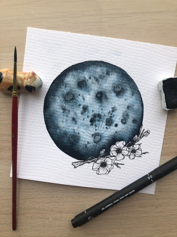 Image of Cherry Blossom Moon