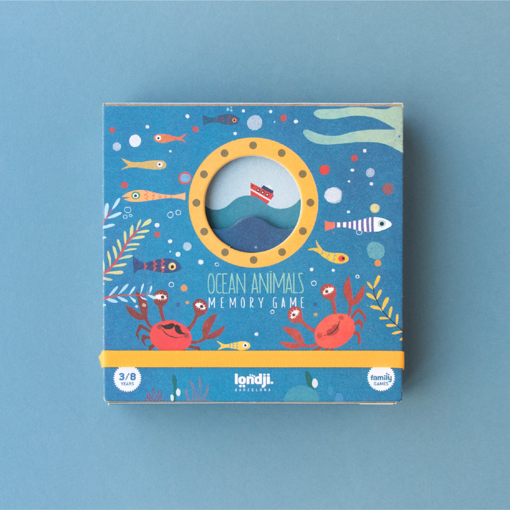 Image of Ocean memory game