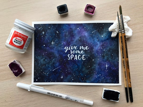 Image of Give Me Some Space Galaxy