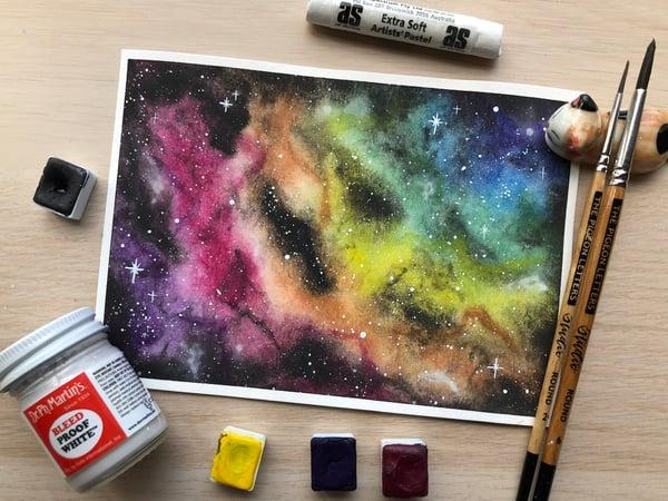 Image of Rainbow Nebula Galaxy