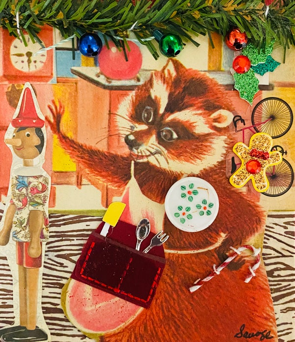 Image of A Raccoon Christmas