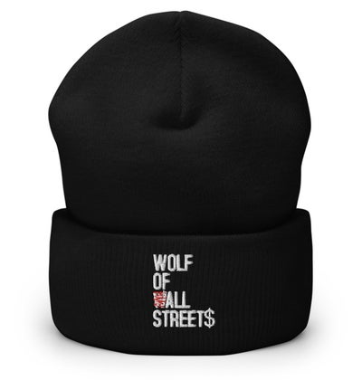 Image of KALVIARI WOLF OF ALL STREET$ BEANIE