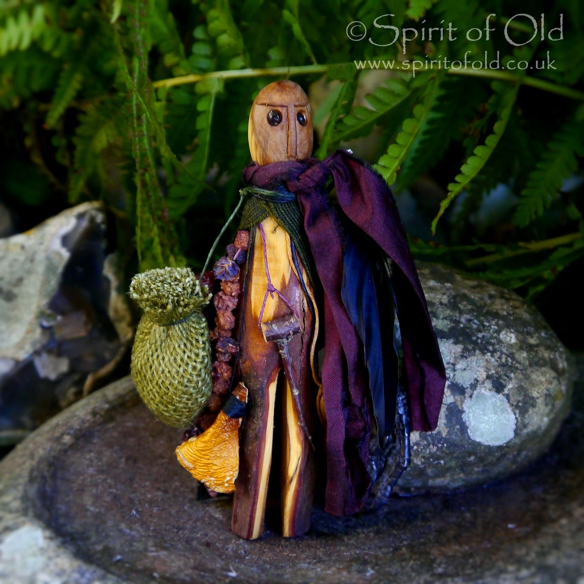 Image of Ancient Yew Tree Spirit figure (TS047)