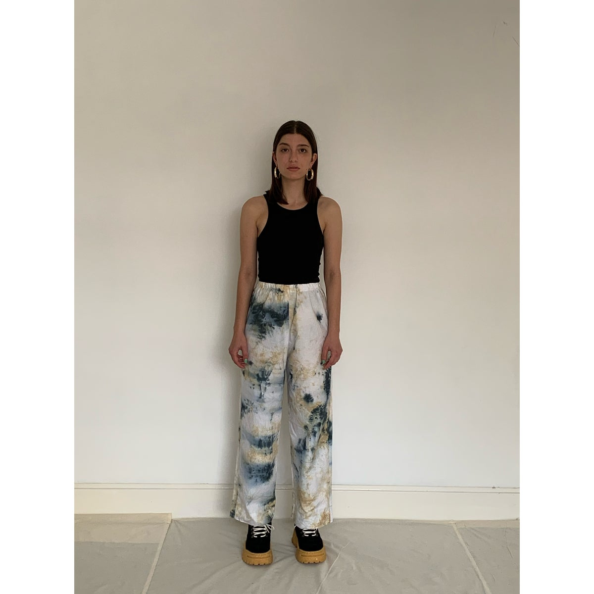 Image of TIE DYE TROUSERS