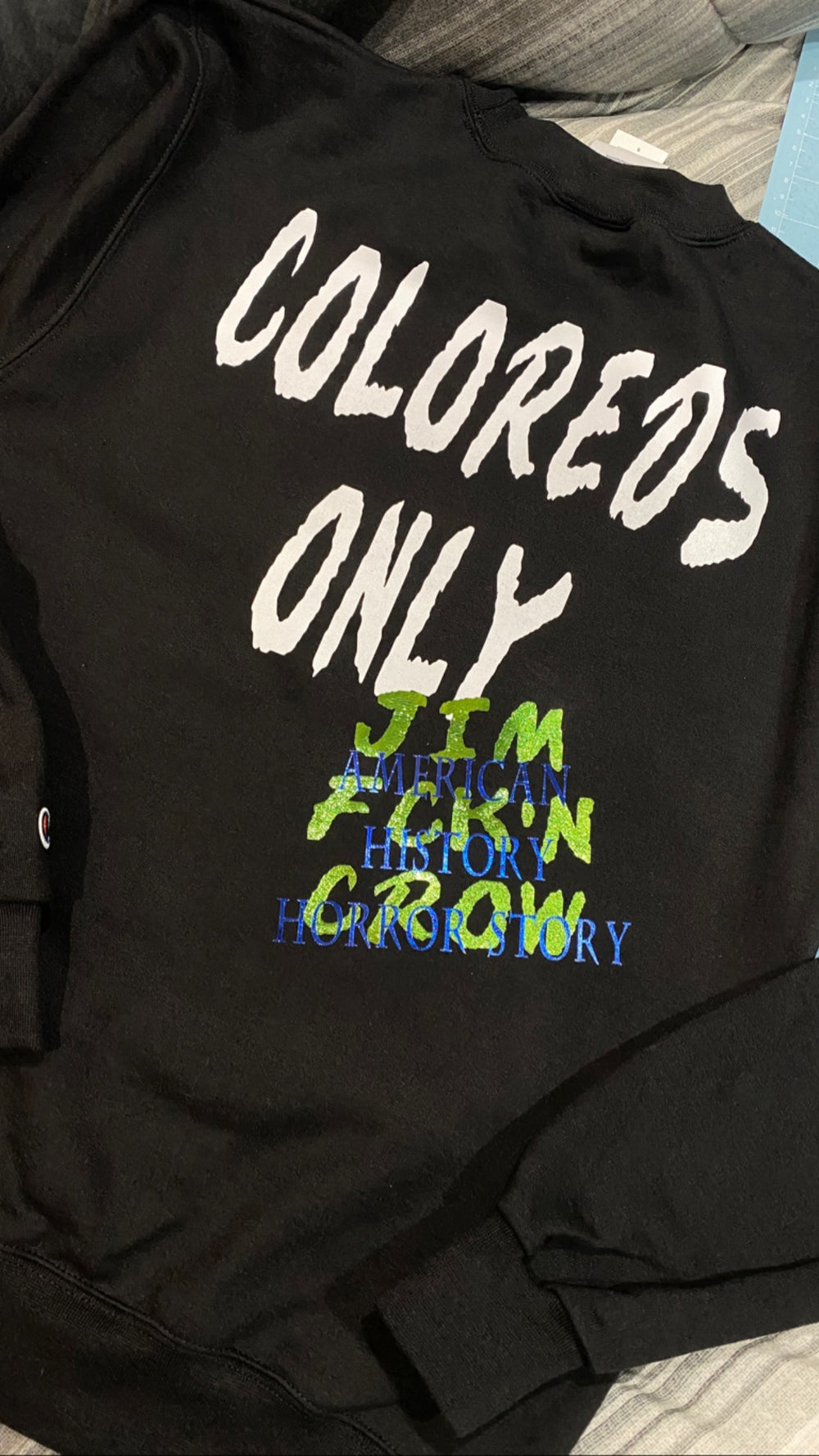 COLOREDS ONLY CREW