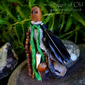 Image of Ancient yew root Tree Spirit figure (TS048)