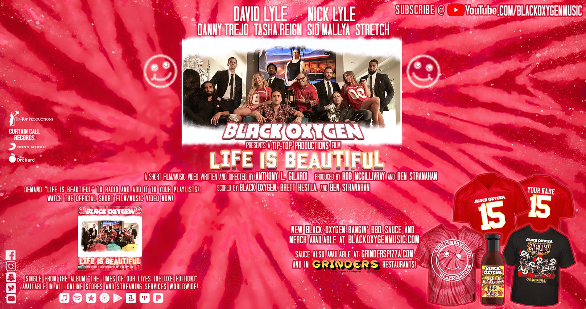 Black Oxygen - Life is Beautiful