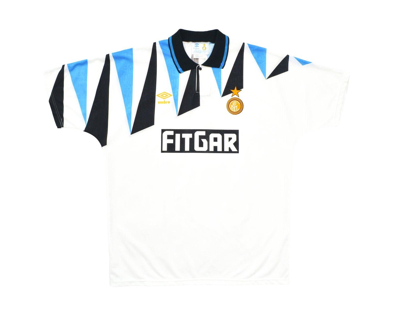 Image of 1991-92 Umbro Inter Milan Away Shirt XL