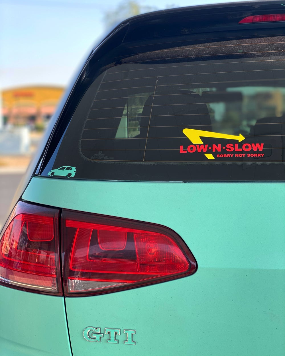 Low N Slow In N Out Decal