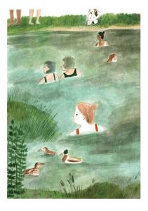 Image of Pond A5 Print