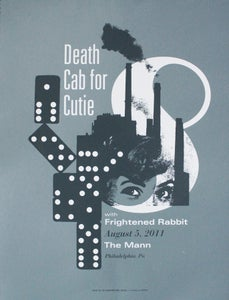 Image of Death Cab for Cutie - gig poster