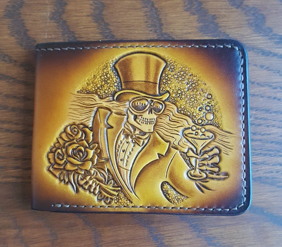 Image of Mr Saturday Night / 13 Point Bolt Handmade Wallet