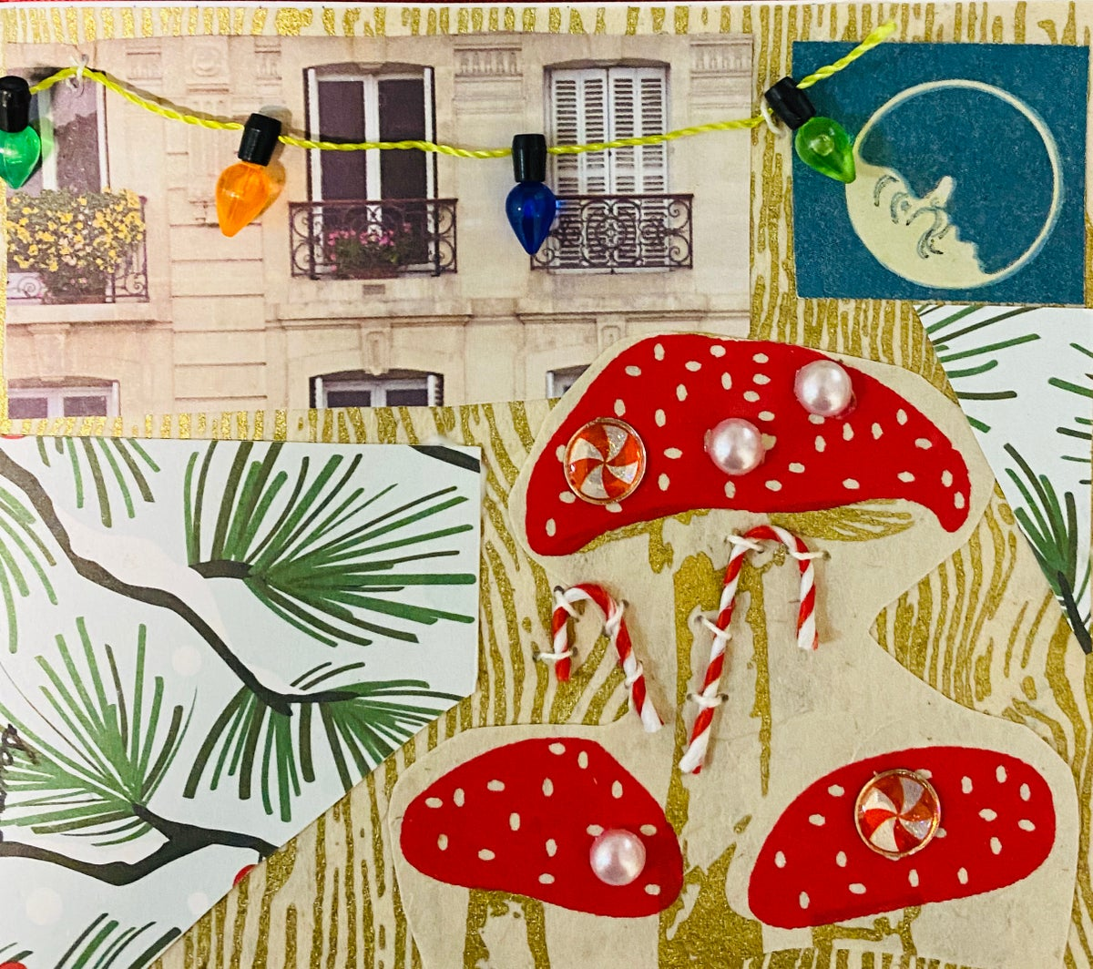 Holiday Mushrooms in the City