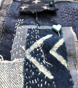 Boro Inspired Embroidery Sampler Kit