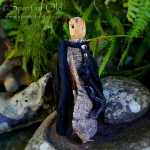 Image of *RESERVED* Ancient yew Tree Spirit figure (TS050)