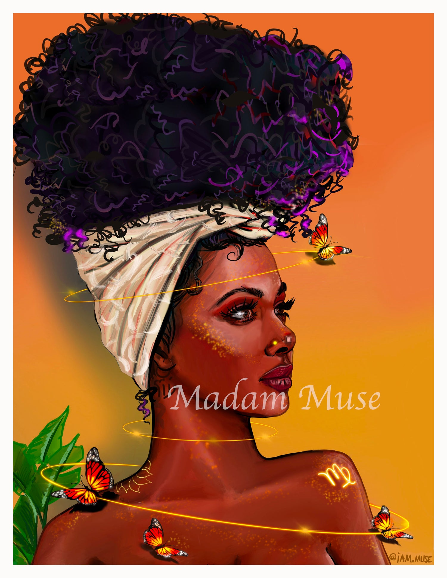 "Image of ""Queen Virgo"" Limited Edition Prints"