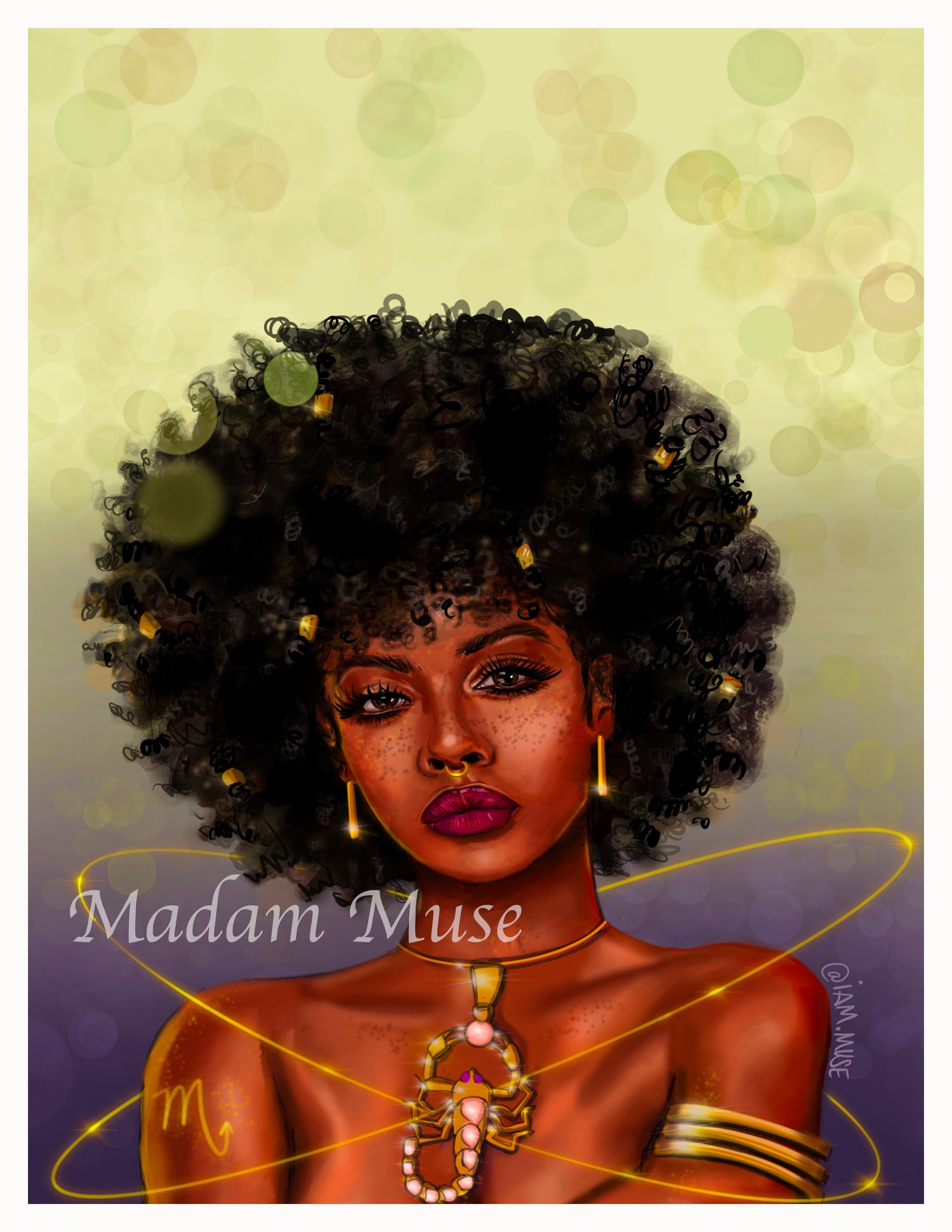 """Image of """"Queen Scorpio"""" Limited Edition Prints"""