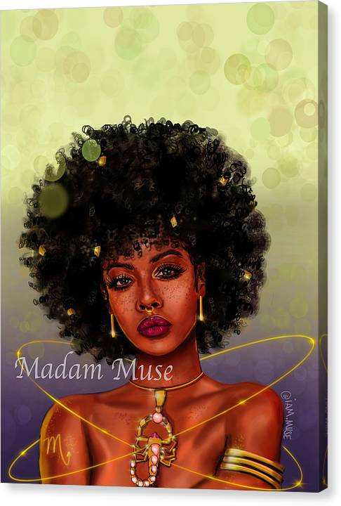 """Image of """"Queen Scorpio"""" Limited Edition Canvas Prints"""