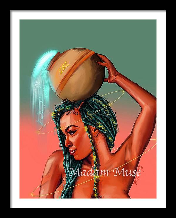"""Image of """"Queen Aquarius"""" Prints"""