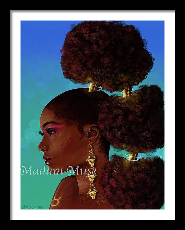 """Image of """"Queen Taurus"""" Prints"""