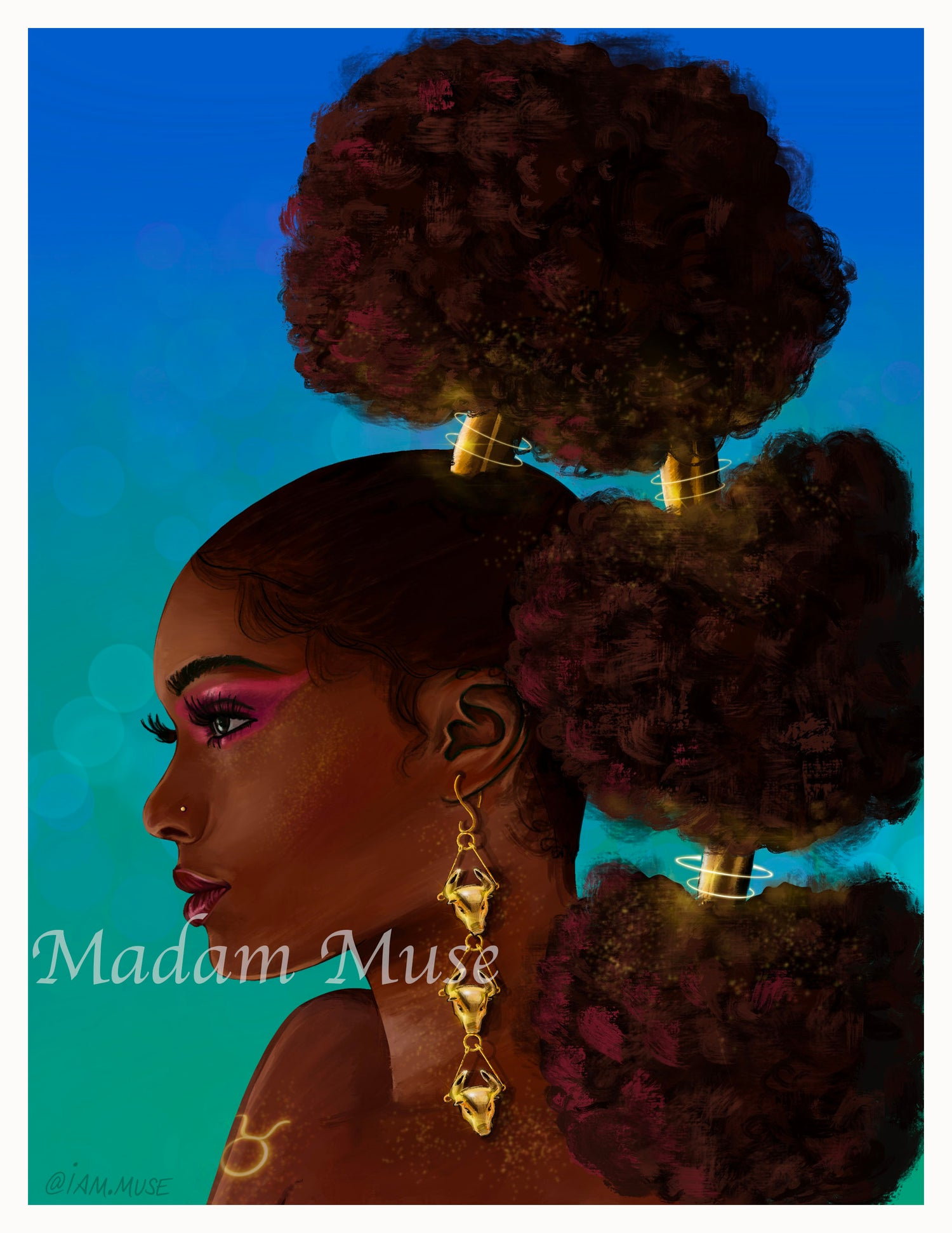 "Image of ""Queen Taurus"" Limited Edition Prints"