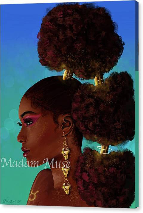 "Image of ""Queen Taurus"" Limited Edition Canvas Prints"