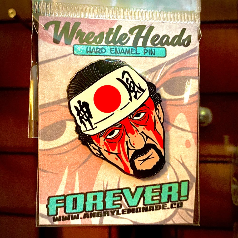 "FOREVER!<br><i>(Terry Funk Tribute)</i><br>1.5"" Hard Enamel Pin"
