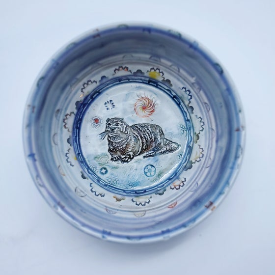 Image of Small Otter Porcelain Dish