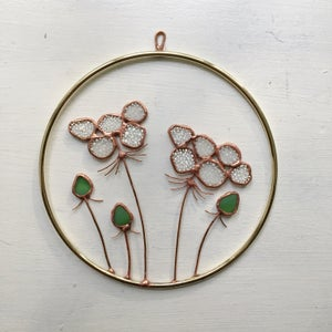 Image of Queen Anne's Lace Wreath no.3