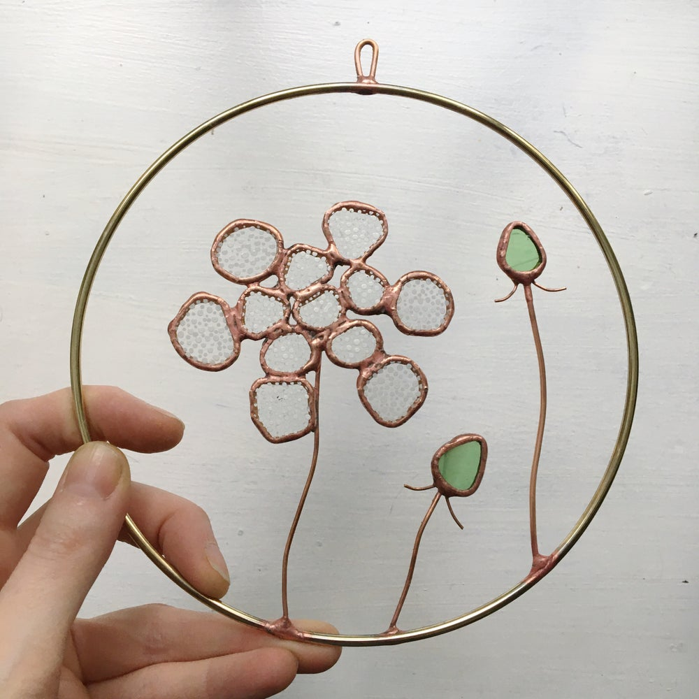 Image of Queen Anne's Lace Wreath no.2