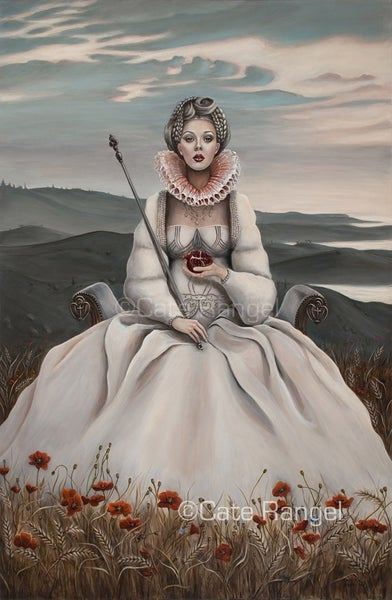 "Image of ""The Empress""/Original Painting/24x36"