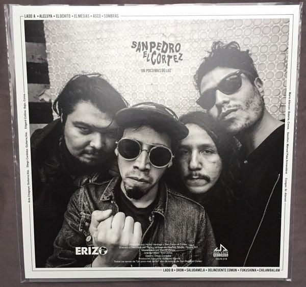 Image of San Pedro El Cortez - Un Poco Mas De Luz Clear Vinyl