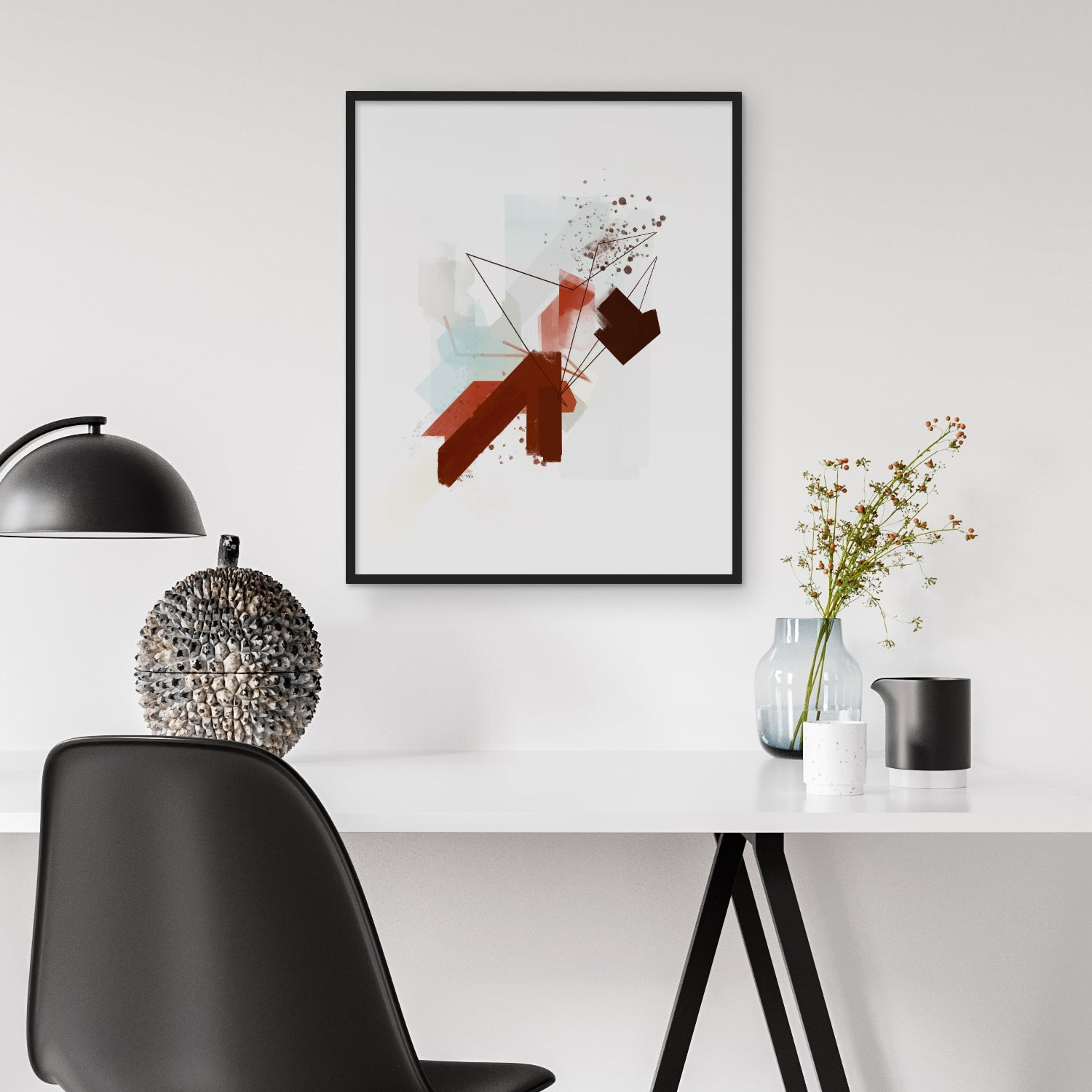 Image of Beautiful Chaos Art Print