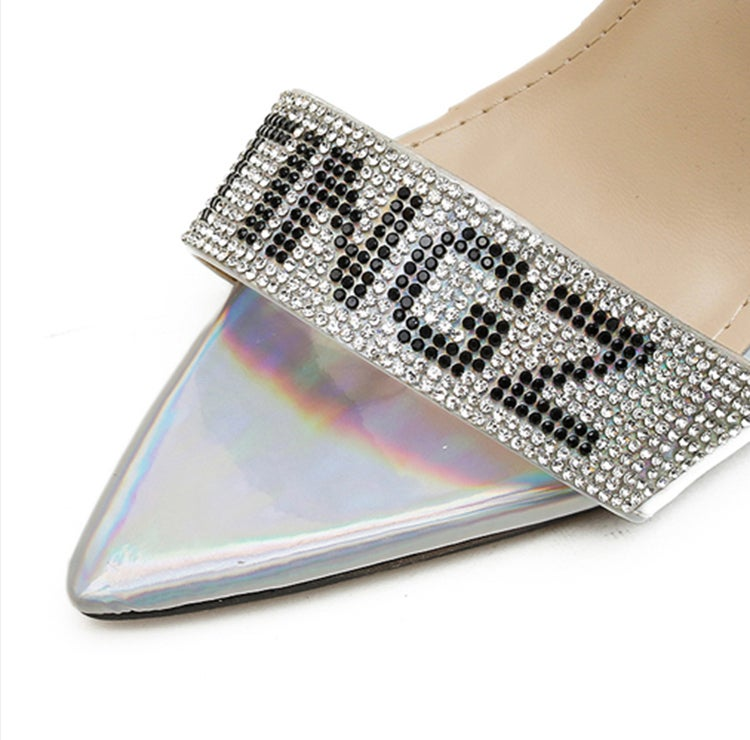 Image of Barbie Tingz Holographic Heels