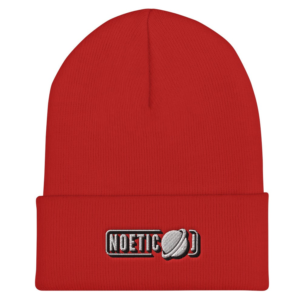 Noetic J Embroidered Beanie