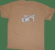 Image of SK8RATS Rat Inside VX1000 T-Shirt