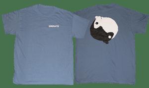 Image of SK8RATS Rat Yin Yang T-Shirt