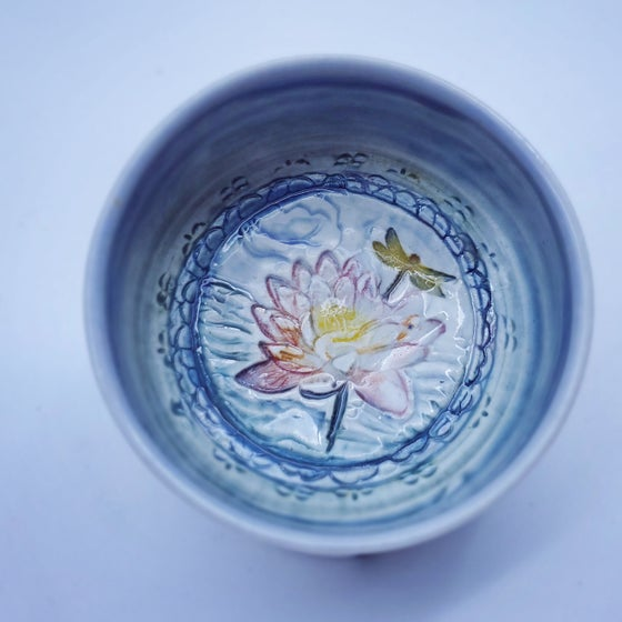 Image of Waterlily Pond Porcelain Dish