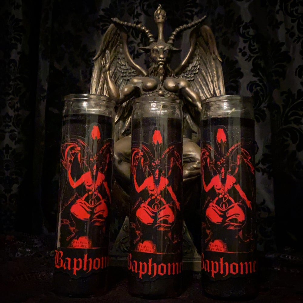 Image of Baphomet Candles