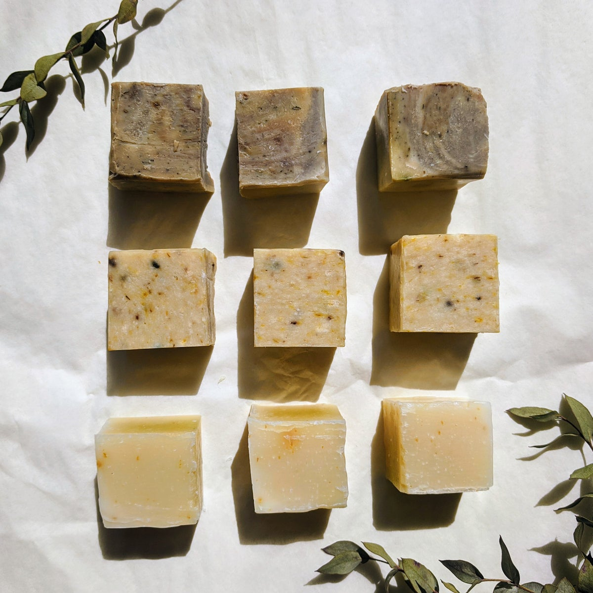 Image of mini soap samplers