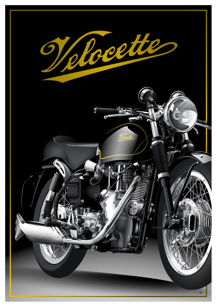 Image of Velocette Thruxton