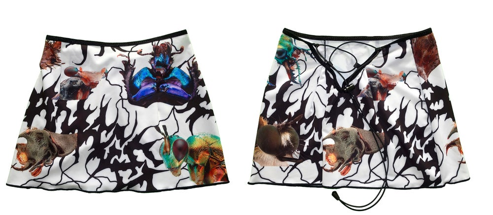 Image of Ungeziefer' 2way mini skirt (white)