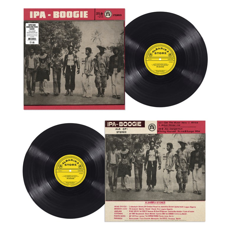 Image of Ipa-Boogie - Ipa-Boogie LP