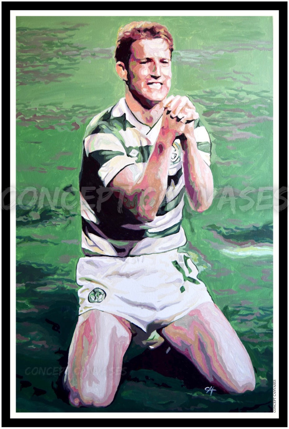 Image of Tommy Burns 'He's There And He's Always There' A3 Print