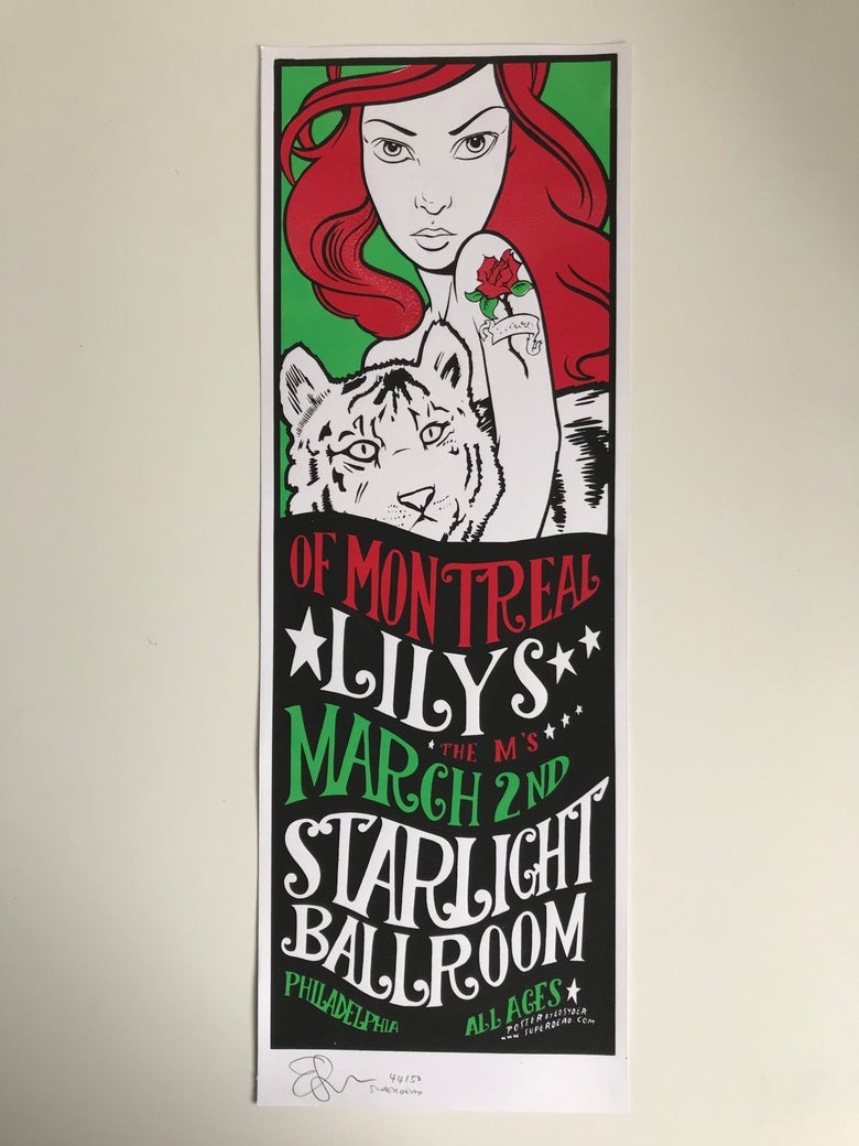 Image of Of Montreal/ Lilys/ The M's poster