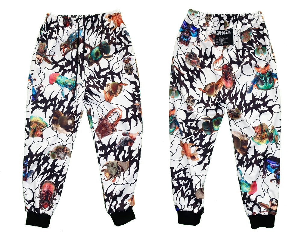 Image of Ungeziefer' full-print pants (white)