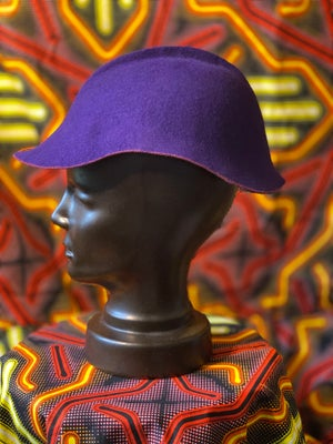 Image of Purple Felt Cap