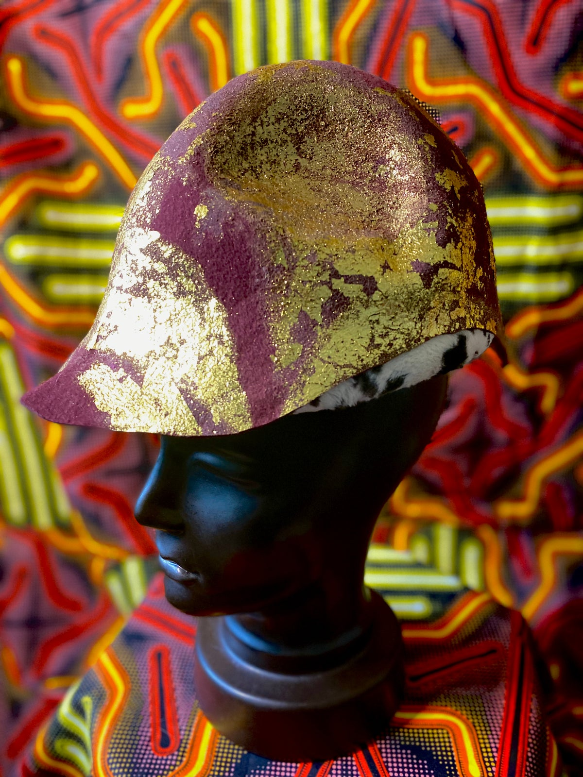 Image of Gold Leaf Cap